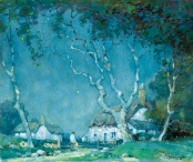 Moonlight, a Devon Hamlet