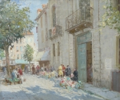 The Flower Market, Dieppe