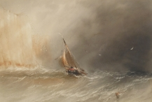 Fishing Boat in a Gale