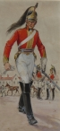 1st King's Dragoon Guards, 1812 (with cig. card of same)