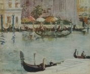 Hotels on the Grand Canal, Venice