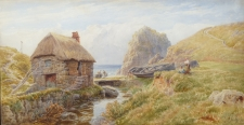 A Cornish Coastal Scene