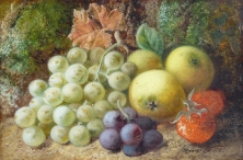 Still Life - Fruit on a Mossy Bank