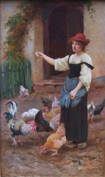 Feeding Time, William Teulon Blandford Fletcher