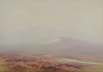Blackabrook Valley, Dartmoor, Charles Edward Brittan jnr