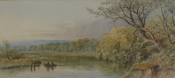 View on the Thames from Quarry Wood, Gt Marlow, Cornelius Pearson