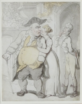 The Disapproving Father, Thomas Rowlandson