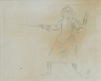 The Fencer, Augustus John
