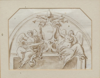 Design for a Frieze, Joseph Wilton