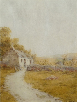 Cottage by a Lane, R. T. Minshall