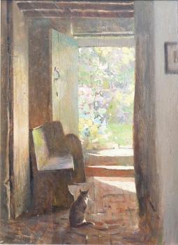 The Cottage Cat, Frederick Hall
