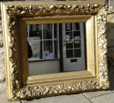 Late Victorian Antique Framed Mirror M1