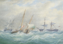 Storm-rigged Ships