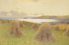 Haymaking near Cemaes bay, Anglesey