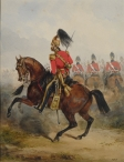 2nd or Queen's Dragoon Guards, Officer Reviewing Order