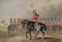 1st King's Dragoon Guards Review Order