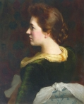 Portrait of Mrs W Cory