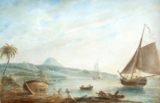 Prince Rupert's Bay, Dominica, West Indies (circa 1770)