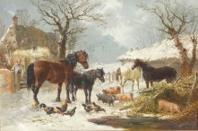 Winter in the Farmyard