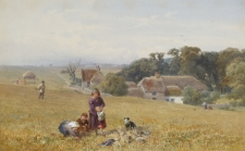 Gleaners near Margate, Isle of Thanet