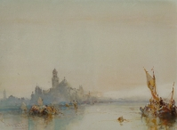 View towards St. Georges, Venice