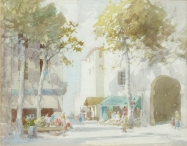 A Continental Street Scene