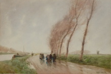 Windy Day, Flanders
