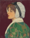 Portrait of a Girl in a Bonnet
