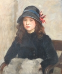 Portrait of Gladys Hunt, aged 11