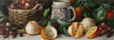 Still Life with Oranges & Cherries