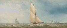 A Sloop at Sea