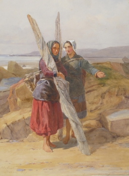 Boulogne Fishergirls, John Absolon