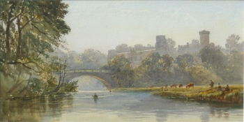 Warwick Castle, Charles Reginald Aston