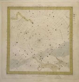 Pictorial Star Chart, South Pole