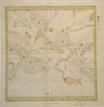 Pictorial Star Chart, Vernal Equinox