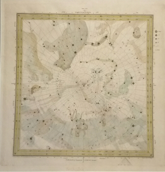 Pictorial Star Chart, North Pole