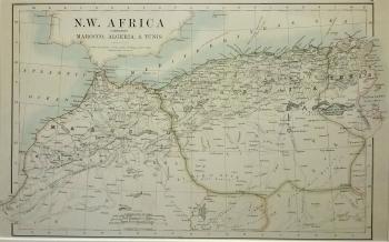 North West Africa comprising Marocco, Algeria & Tunis