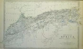 N W Africa (Morocco, Algeria, Tunis),