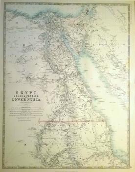 Egypt, Arabia Petrae & Lower Nubia
