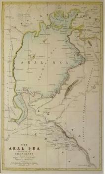 The Aral Sea according to Khanikoff; (miniature)