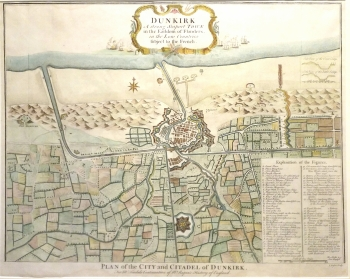 Plan of the City & Citadel of Dunkirk