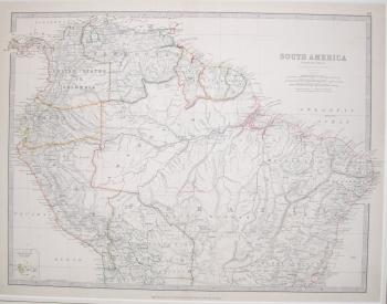 South America, Northern Sheet