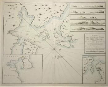 Islands of Orkney - chart, French Edition