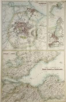 Ports & Harbours of the East Coast of Scotland, Firth of Fourth, Aberdeen, Edinburgh, Peterhead,