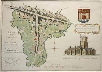 Plan of the Borough of Bridport