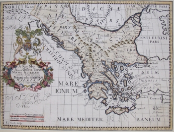 A New Map of Ancient Greece, Thrace, Moesia, Illyrium & the Islands adjoining