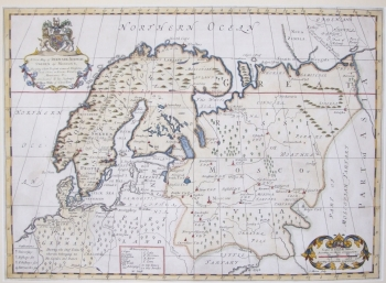 A New Map of Denmark, Norway, Sweden & Moscovy