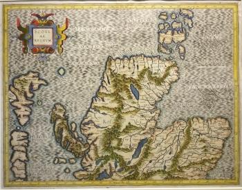 Scotiae Regnum (North Scotland)