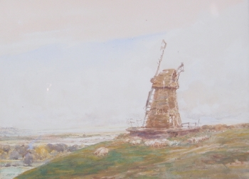 An Old Windmill, Claude Hayes