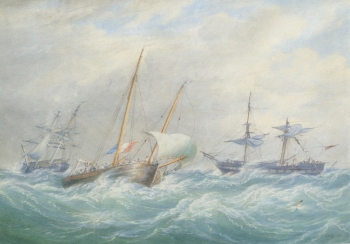 Storm-rigged Ships, William Joy